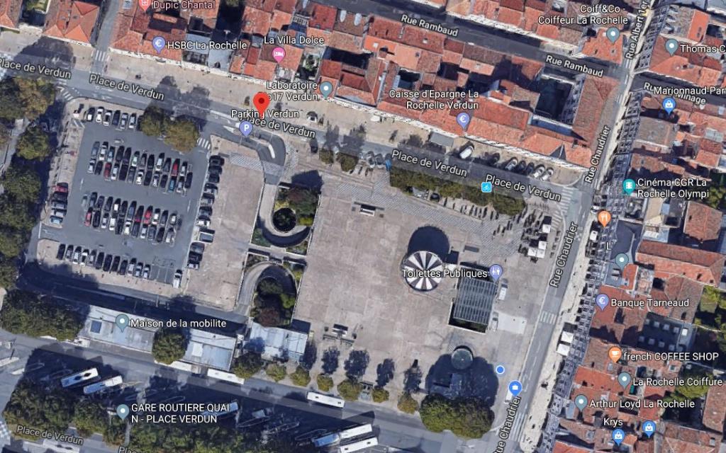 Bureaux Centre-ville La Rochelle emplacement n°1 - 400 m²